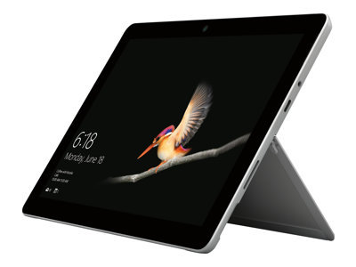 """Microsoft Surface Go LTE 4G Advanced - Tablet - Pentium Gold 4415Y / 1.6 GHz - Win 10 Pro - 8 GB RAM - 128 GB SSD NVMe - 10"""" touchscreen 1800 x 1200 - HD Graphics 615 - Wi-Fi, Bluetooth - 4G - silver - commercial"""