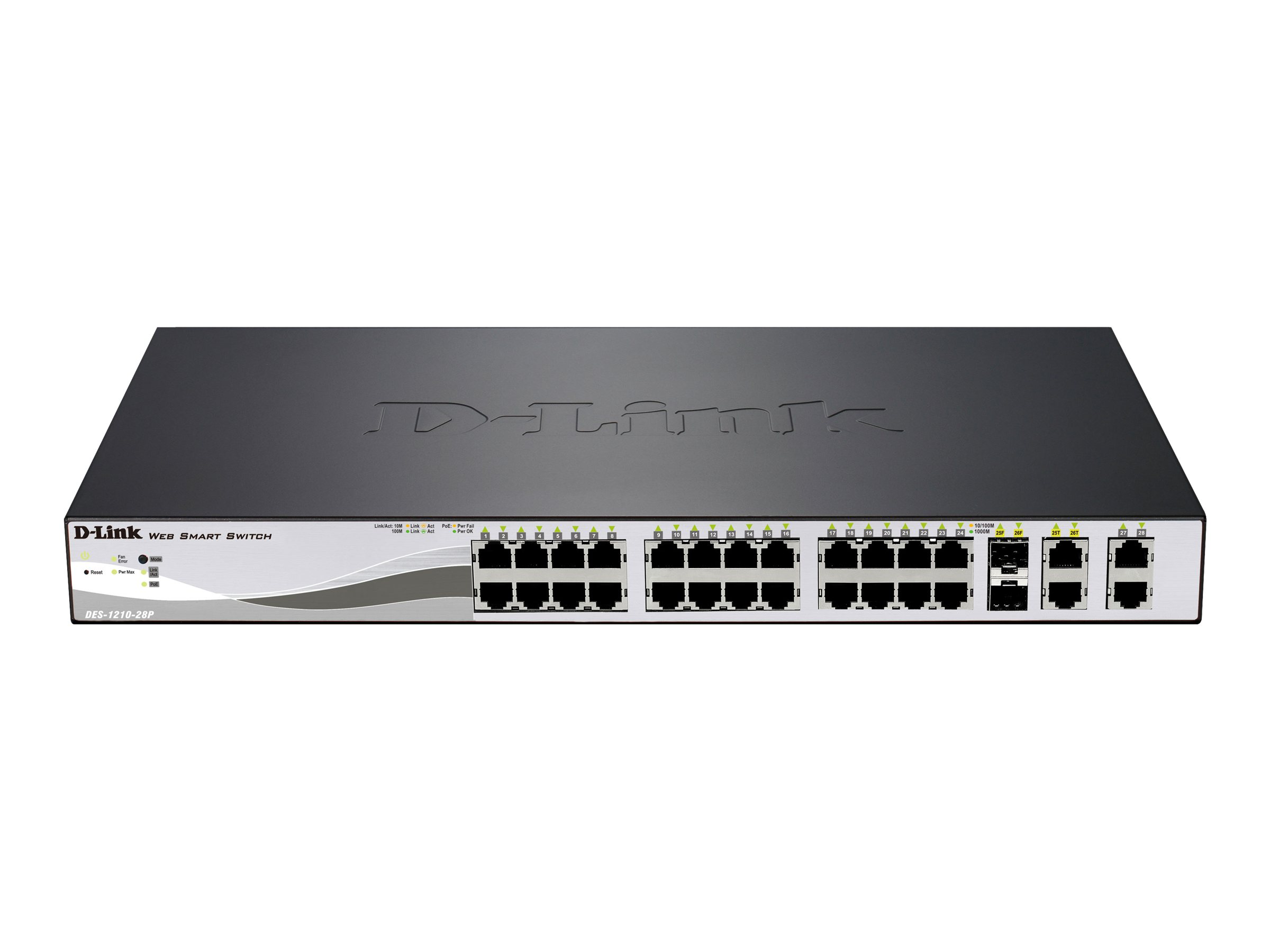 D-Link DES 1210 - switch - 24 ports - managed