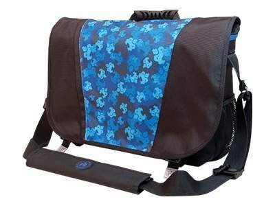 Mobile Edge Sumo Messenger Bag Notebook carrying case 17.1INCH black/blue