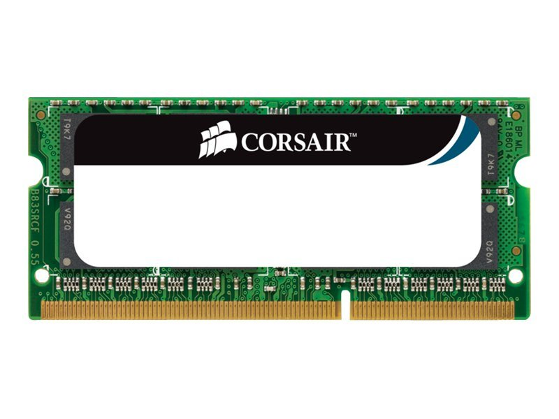 Corsair Mac Memory - DDR3 - 4 GB - SO DIMM 204-PIN - 1066 MHz / PC3-8500 - CL7