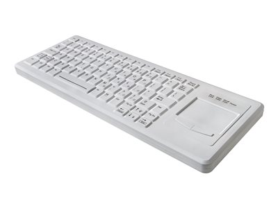 TG3 Electronics CK82S Right Touchpad Keyboard with touchpad backlit USB black