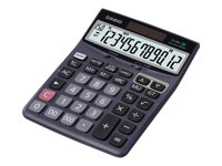 Casio DJ-120D Desktop calculator 12 digits solar panel, battery