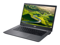 "Acer Chromebook 14 for Work CP5-471-32J3 - Core i3 6100U / 2.3 GHz - Chrome OS - 8 Go RAM - 32 Go eMMC - 14"" IPS 1920 x 1080 (Full HD) - HD Graphics 520 - Wi-Fi, Bluetooth - noir, argenté(e) - kbd : français"