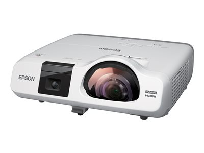Epson BrightLink 536Wi Interactive 3LCD projector 3400 lumens (white) 3400 lumens (color)