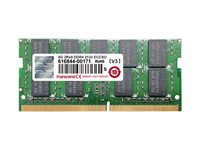 Transcend DDR4 16 GB SO-DIMM 260-pin 2400 MHz / PC4-19200 CL17 1.2 V unbuffered -