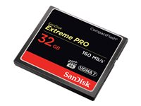 SanDisk Extreme Pro Flash memory card 32 GB 1000x/1067x CompactFlash