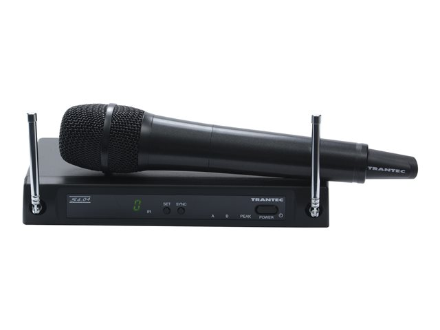 Image of Trantec S4.04 Series Handheld - wireless microphone system