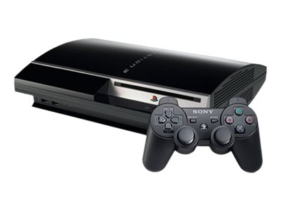 Sony PlayStation 3 - game console - 320 GB HDD - charcoal black