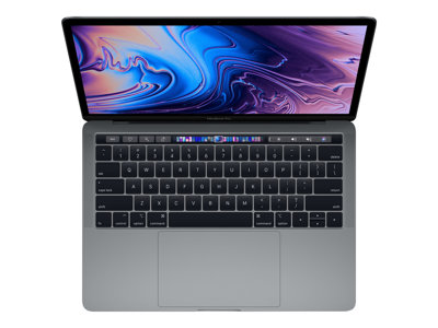 "Apple MacBook Pro with Touch Bar - 13.3"" - Core i7 - 16 GB RAM - 512 GB SSD - Engelsk"