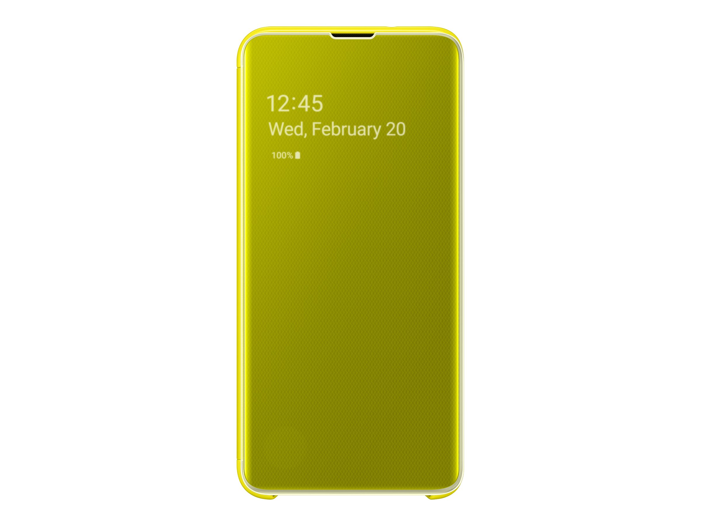 Samsung Clear View Cover EF-ZG970 - flip cover for cell phone