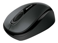 Microsoft Wireless Mobile Mouse 3500 for Business - Mouse - right and left-handed - optical - 3 buttons - wireless - 2.4 GHz - USB wireless receiver - lochness grey
