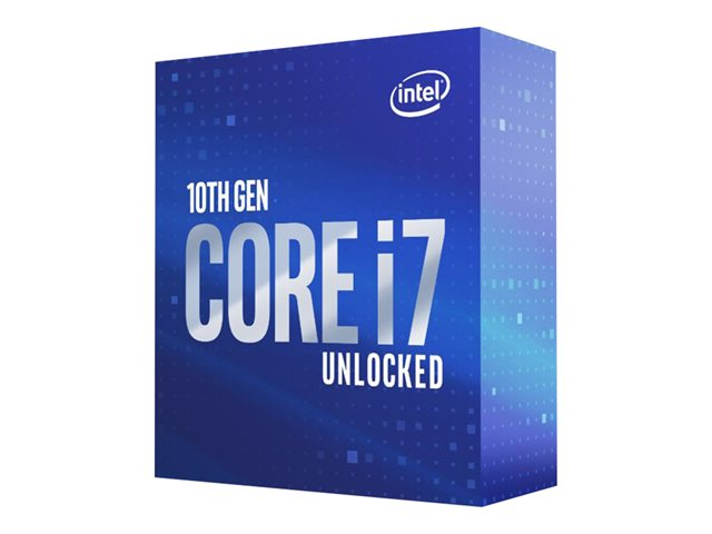 Image of Intel Core i7 10700K / 3.8 GHz processor