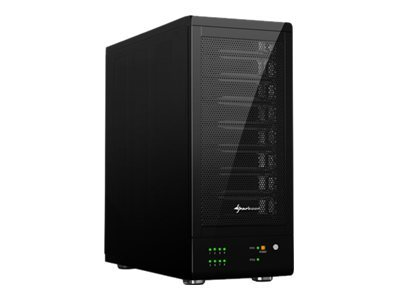 Sharkoon 8-Bay RAID-Station - Festplatten-Array - 8 Schächte ( SATA-300 ) - SATA 3Gb/s, USB 3.0 (extern)