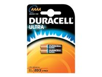 Duracell Ultra Battery 2 x AAAA alkaline