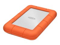 LaCie Rugged Mini - Harddisk - 1 TB - ekstern ( bærbar ) - USB 3.0 - 5400 rpm