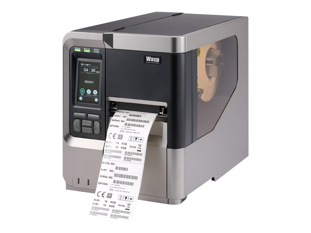 Wasp WPL618 - label printer - monochrome - direct thermal / thermal transfer