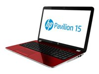 "HP Pavilion 15-e014nr - A4 5150M / 2.7 GHz - Win 8 64-bit - 4 GB RAM - 500 GB HDD - DVD SuperMulti - 15.6"" HD BrightView 1366 x 768 (HD) - red, fleur"