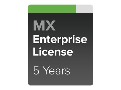 Cisco Meraki Enterprise - subscription license (5 years) + 5 Years Enterprise Support - 1 security appliance