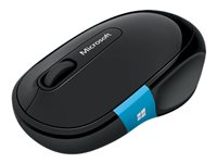 Microsoft Sculpt Comfort Mouse - Mouse - right-handed - optical - 6 buttons - wireless - Bluetooth 3.0 - black - for Surface