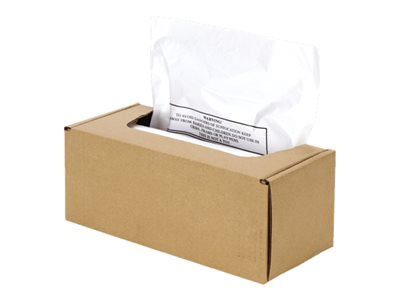Fellowes - Waste bag - opaque (pack of 50)