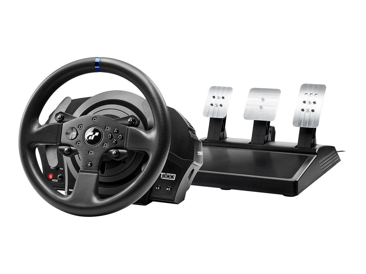 ThrustMaster T300 RS - GT Edition - Lenkrad- und Pedale-Set - verkabelt - für PC, Sony PlayStation 3, Sony PlayStation 4