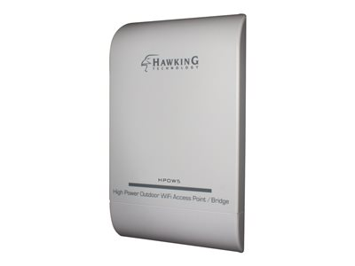Hawking High Power Outdoor WiFi Access Point / Bridge HPOW5 Wireless access point Wi-Fi