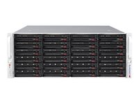 Supermicro SuperStorage Server 6048R-E1CR24N Server rack-mountable 4U 2-way RAM 0 MB