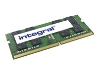 Integral - DDR4 - 8 Go - SO DIMM 260 broches - 2400 MHz / PC4-19200 - CL17 - 1.2 V - mémoire sans tampon - non ECC