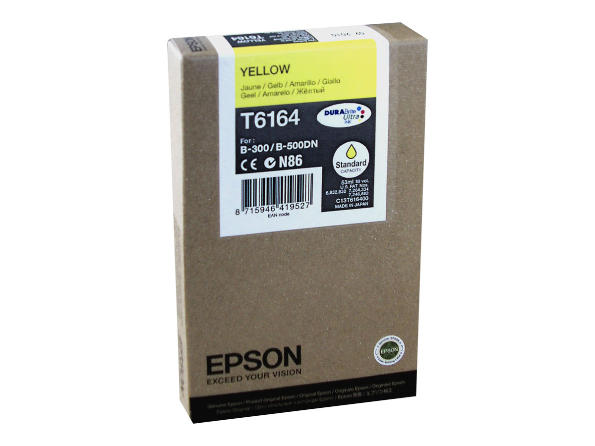 epson t6164 jaune originale cartouche d 39 encre epson. Black Bedroom Furniture Sets. Home Design Ideas