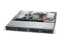 Supermicro SuperServer 5018A-MLHN4 Server rack-mountable 1U 1-way 1 x Atom C2550