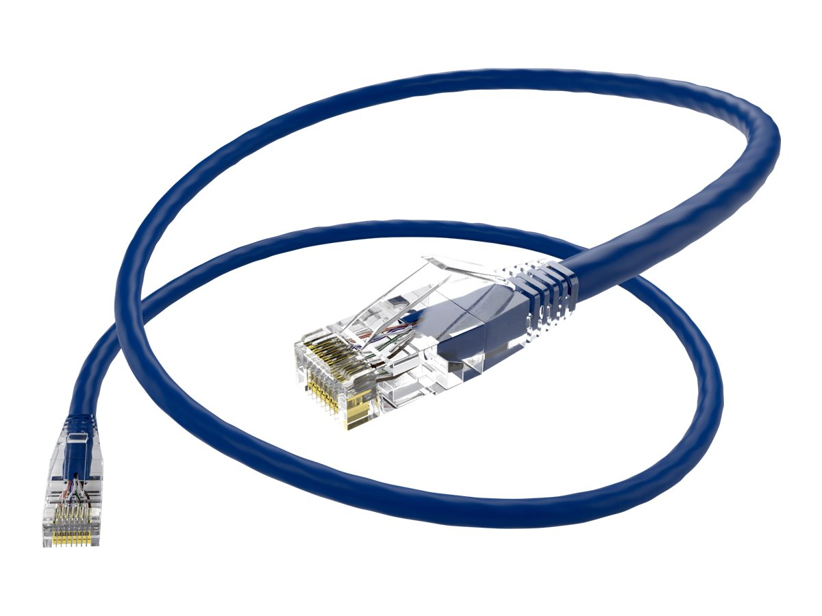 Oncore ClearFit patch cable - 2.13 m - blue