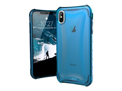 UAG Rugged Case for iPhone XS Max [6.5-inch screen] - Glacier Plyo - Back cover for mobile phone - Glacier - for Apple iPhone Xs Max
