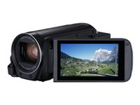 Canon LEGRIA HF R88 - Camcorder - 1080p / 50 fps - 3.28 MP - 32x optical zoom - flash 16 GB - flash card - Wi-Fi, NFC - black