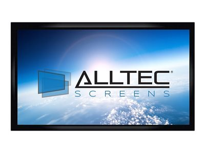Alltec Screens HDTV Format Projection screen wall mountable 110INCH (109.8 in) 16:9