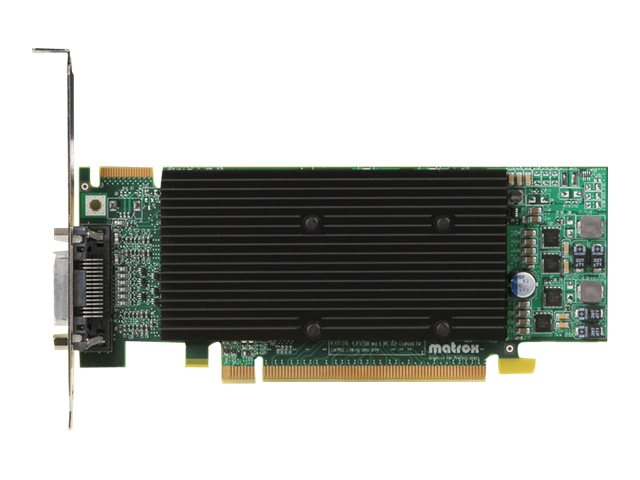 Matrox M9120 Plus - Grafikkarten - 512 MB DDR2 - PCIe x16 Low-Profile