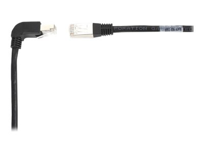 Black Box SpaceGAIN Down to Straight - patch cable - 1.8 m - black