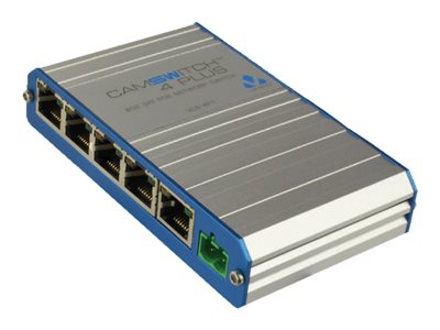 Veracity CAMSWITCH Plus 4 Switch unmanaged 4 x 10/100 (PoE+) + 1 x 10/100