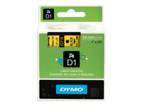 Picture of DYMO D1 - label tape - 1 roll(s) - Roll (2.4 cm x 7 m) (S0720980)