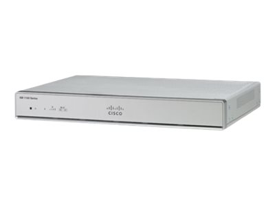 Cisco Integrated Services Router 1111 Router WWAN 4-port switch