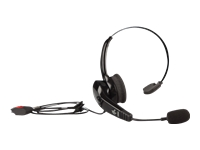 Zebra HS2100 - Headset - on-ear - wired - for Zebra RS6000, TC72, WT6000 Wearable Computer