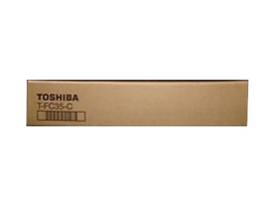 Toshiba TFC35-C - cyan - original - toner cartridge