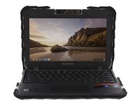 Gumdrop Drop Tech Notebook top and rear cover 11.6INCH black, clear