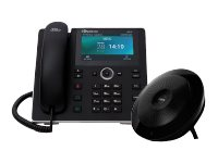 AudioCodes Huddle Room Solution UC-HRS-457 Small VoIP phone SIP, SDP 8 lines black