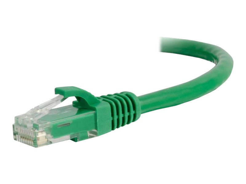 C2G Cat5e Snagless Unshielded (UTP) Network Patch Cable - patch cable - 1.21 m - green