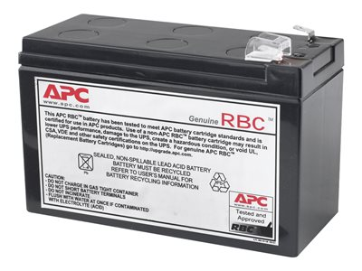 APC Replacement Battery Cartridge #110 UPS-batteri