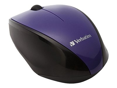 357b508c80b Product | Verbatim Wireless Multi-Trac Blue LED - mouse - purple