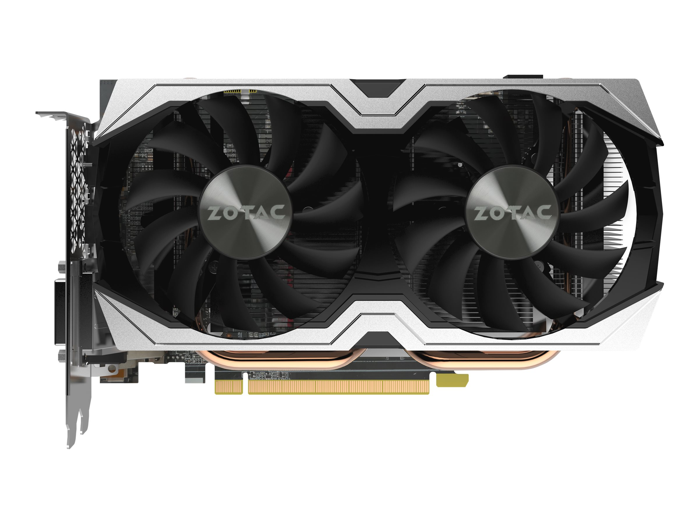 ZOTAC GeForce GTX 1070 Mini - Grafikkarten - 8 GB GDDR5 - PCIe 3.0 - DVI, HDMI, 3 x DisplayPort