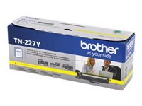 Brother TN-227Y - High Yield - yellow - original - toner cartridge - for Brother DCP-L3550, HL-L3210, L3230, L3270, L3290, MFC-L3710, L3730, L3750, L3770