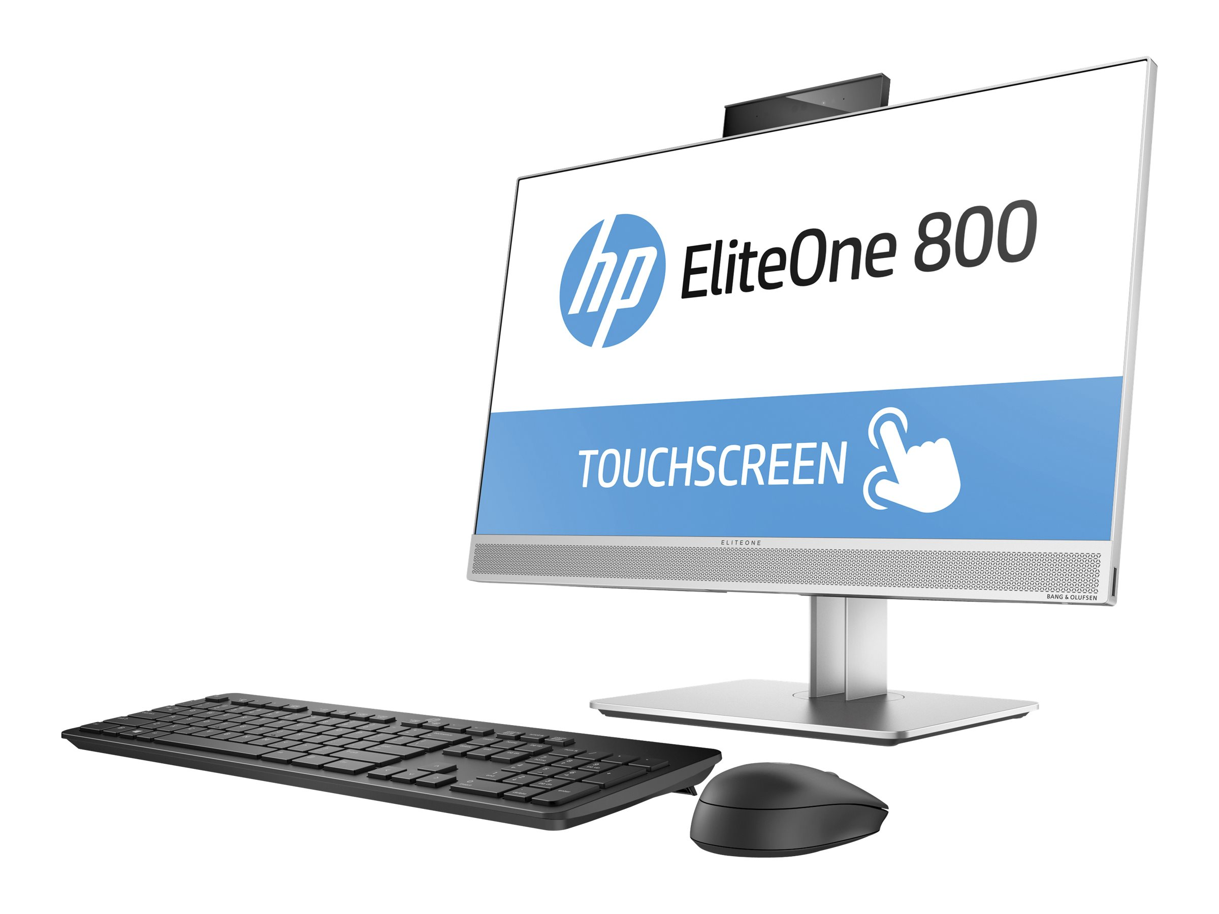 HP EliteOne 800 G3 - All-in-One (Komplettlösung) - 1 x Core i5 7500 / 3.4 GHz - RAM 8 GB - SSD 256 GB - NVMe, TLC