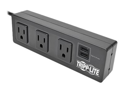 Image result for Tripp Lite 6 Outlet Clamp Mount Surge Protector